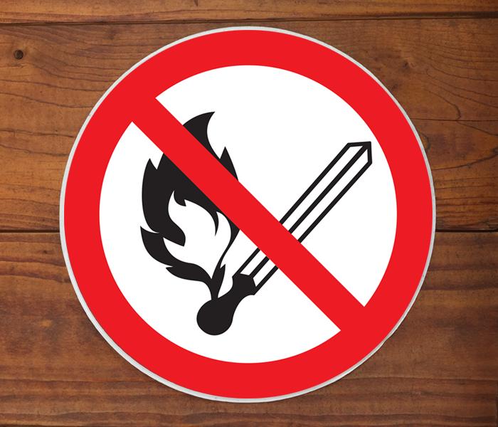 Feuer verboten