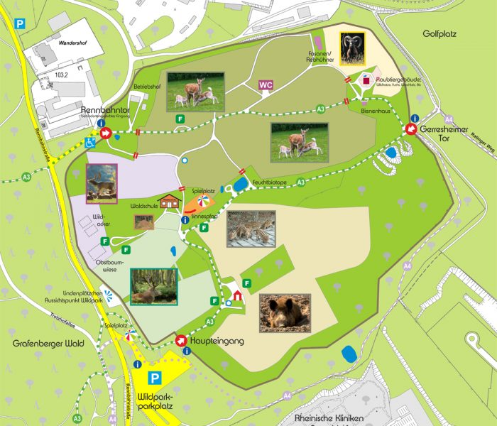 Wildpark-Karte